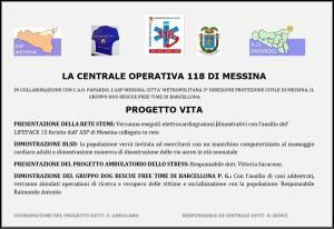 """Messina. Presentazione del """"Progetto Vita"""", iniziativa sulla prevenzione delle malattie cardiache."""