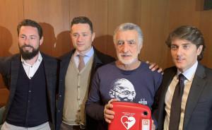 """Messina. Presentato il progetto di """"Città Cardioprotetta"""" promosso e fortemente voluto da renato Accorinti."""
