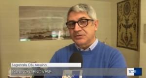 Messina. Ponte sullo Stretto, Tonino Genovese (Cisl Messina): «unica via d'uscita per lo sviluppo di tutto il territorio siciliano»