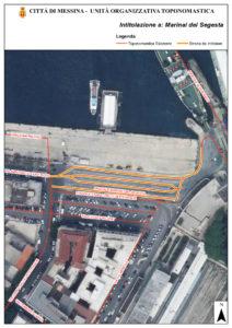 """Messina. Intitolazione del """"Piazzale Marinai Segesta"""""""