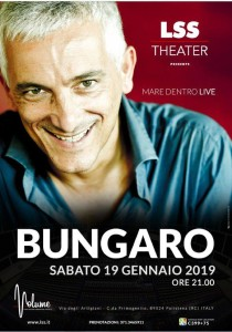 Polistena (Rc): sabato prossimo Bungaro all'LSS Theater