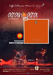 Bovalino (Rc). Presentazione del nuovo album degli Angara.