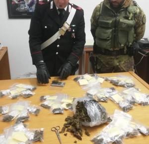 Roccella Jonica (Rc): fruttivendolo arrestato dai carabinieri per detenzione di materiale esplodente e sostanza stupefacente