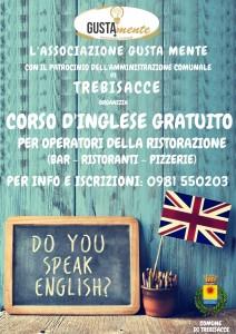 Il comune di Trebisacce (Cs) patrocina un corso d'inglese gratuito per operatori della ristorazione.