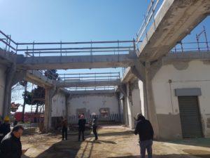 """Messina. Sopralluogo del Vicesindaco mondello alla Caserma della polizia municipale """"Di Maio""""."""
