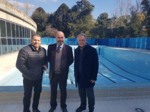 Messina. Impianti sportivi di Villa Dante: sopralluogo oggi del Vicesindaco Mondello e dell'Assessore Scattareggia