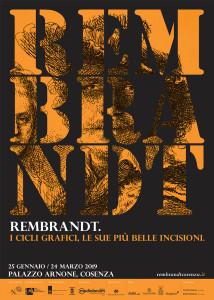 Cosenza. Rembrandt: i cicli grafici, le sue più belle incisioni