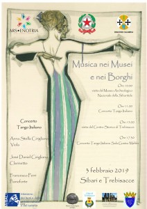 Cassano allo Ionio (CS). Musica nei Musei e nei Borghi al Museo Nazionale Archeologico della Sibaritide.