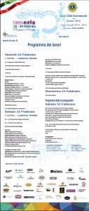 Lamezia Terme (Cz). Ottavo congresso d'Inverno Lions Club