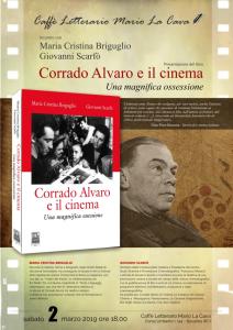 Bovalino (RC). Presentazione del libro Corrado Alvaro e il cinema di Maria Cristina Briguglio e Giovanni Scarfò