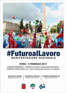 Messina. #Futuroallavoro, oltre duecento lavoratori della Cisl Messina alla manifestazione nazionale di sabato prossimo a Roma sulle priorità della crescita e del lavoro