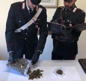 Polistena (Rc). Carabinieri: 27enne arrestato con l'accusa di detenzione ai fini di spaccio di sostanza stupefacente.