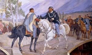 33-garibaldi-e-vittorio-emanuele-teano-26-ottobre-1860-dipinto