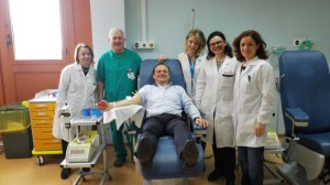 Messina. Visita del sindaco De Luca all'ospedale Papardo-Piemonte