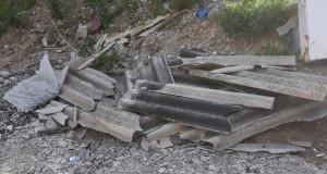 Polizia metropolitana di Messina: sequestrata un'area adibita a discarica di amianto lungo il torrente Pace
