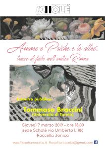 """Roccella Jonica (Rc). Associazione Culturale Scholé: """"Psiche e le altre: tracce di fiabe nell'antica Roma"""""""