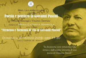 Siderno (Rc). Conferenza sul poeta G. Pascoli
