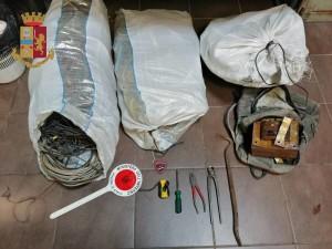 Messina. La Polizia di Stato individua gli autori di un furto di rame. Uno dei tre resta folgorato.