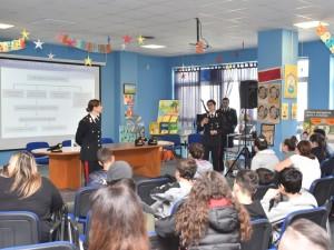Palermo. I Carabinieri della Sezione Atti Persecutori incontrano gli studenti.