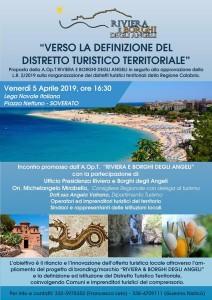 """Soverato (Cz). """"Distretti turistici territoriali"""", nuova l.r.2/2019, se ne parlerà venerdì"""