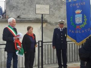 Una donna che si è distinta per l'impegno socio- politico trova posto nella Memoria Locale: Badolato dedica Belvedere a Carmelina Amato