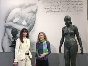 Taormina (Me). Allestimento in corso per la mostra-evento di Francesco Messina, scultore originario di Linguaglossa. Inaugurazione lunedì 15 a Palazzo Ciampoli.
