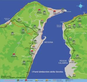 Messina. Martedì la firma del Protocollo internazionale per la valorizzazione del patrimonio fortificato dello Stretto