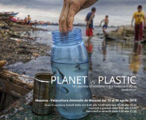 """Messina. Domani al Palacultura l'inaugurazione della mostra """"Planet Vs Plastic""""."""