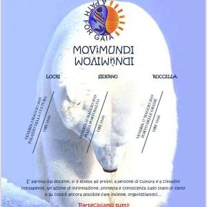 """Locri (Rc). """"Movìmundi"""": parte venerdì 3 maggio dalla statua di Nosside il movimento di sensibilizzazione per l'ambiente. A Locri, Siderno e Roccella i tre venerdì di maggio per il futuro della Terra"""