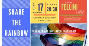 Messina. Fare per Cambiare e il suo Share The Rainbow, venerdì 17 maggio.