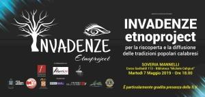 """Soveria Mannelli (Cz). Presentazione del progetto """"Invadenze Etnoproject, per la riscoperta e la diffusione delle tradizioni popolari calabresi"""""""