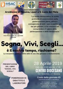 """Messina. """"Sogna, vivi, scegli"""": la politica rivoluzionaria promossa dall'Azione Cattolica"""