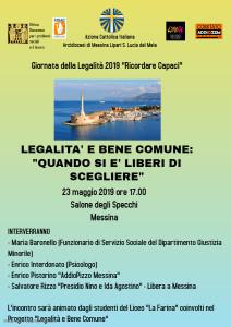 Messina. AddioPizzo e Azione Cattolica insieme per la Giornata della Legalità