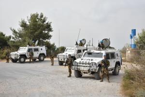Missione UNIFIL: caschi blu italiani controllano la Blue Line