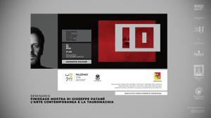 Palermo. La tauromachia di Giuseppe Patanè torna in scena con un seminario d'arte contemporanea
