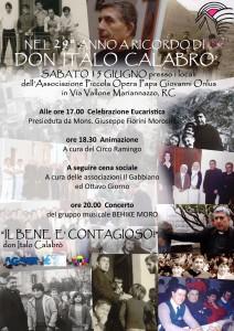 Reggio Calabria. Celebrazione eucaristica dedicata a don Italo Calabrò