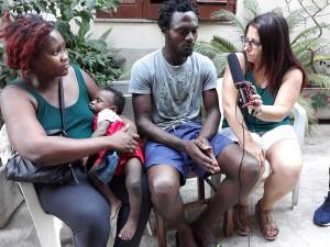 Guardavalle (Cz). Lo sfogo di un gruppo di migranti in cerca di aiuto. VIDEO e FOTO