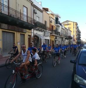 """Santa Teresa di Riva (Me). Domenica sportiva lungo la riviera jonica con """"Bicicittà"""""""