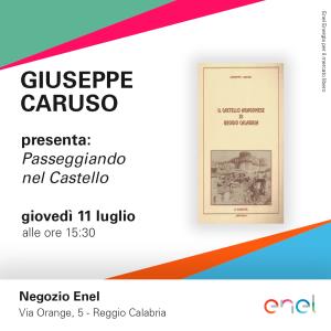 """Enel ospitera' la presentazione del libro """"Il Castello Aragonese di Reggio Calabria"""" dello storico Giuseppe Caruso"""