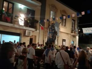 Fede e folkore a Santa Teresa di Riva (Me): doppia processione in onore della Madonna di Portosalvo