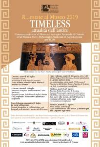 Crotone. Timeless, attualità dell'antico  Dal mare alla tavola  Museo Archeologico Nazionale di Crotone