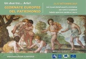 Polo museale della Calabria: Giornate Europee del Patrimonio 2019, sabato 21 e domenica 22 settembre
