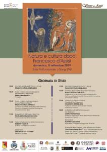 """Gangi (PA). """"Natura e cultura dopo Francesco d'Assisi"""": Giornata di studi nell'ambito della rievocazione storico-medievale """"Vivere in Assisi"""""""