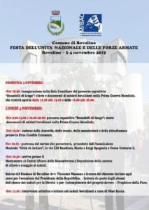 Bovalino (Rc): Giornata dell'Unità Nazionale e delle Forze Armate