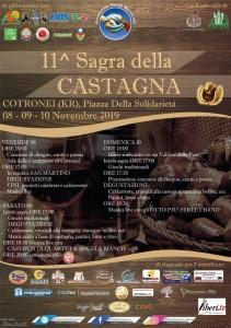 """La tradizionale """"Sagra della Castagna"""" di Cotronei (Kr) compie undici anni."""