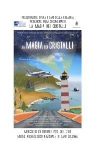 """Capo Colonna (KR). """"La magia dei cristalli. I Fari della Calabria"""" al Museo e Parco Archeologico Nazionale di Capo Colonna"""