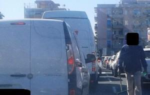 """Catania. Comitato """"Terranostra"""" su assedio lavavetri incrocio tra via Giuffrida e viale Sanzio."""