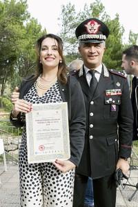 Licusati (Sa). Al Cavaliere della Repubblica Italiana avv. Silvana Paratore il Premio Nassiriya per la Pace 2019