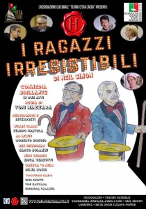 """Vacantiandu. Al Gran Premio Teatro Amatoriale Italiano la Compagnia piemontese C'era l'Acca con la commedia """"I ragazzi irresistibili"""" di Neil Simon"""