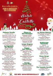"""Roccella Jonica (Rc). Stilato il programma della 3° edizione di """"Natale al Castello Più""""."""